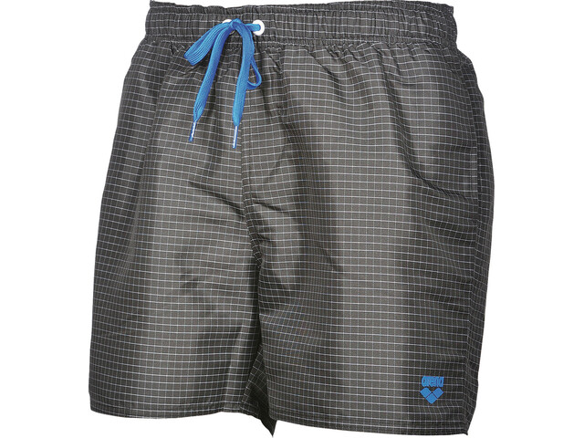 arena Yarn Dyed Pl Check Boxer Herre black-white